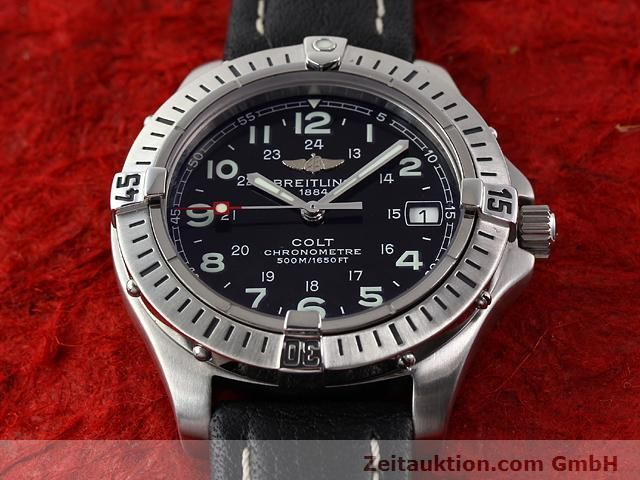 Used luxury watch Breitling Colt steel quartz Kal. B74 Ref. A74350  | 140498 13