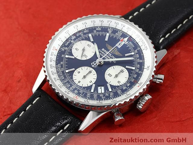Used luxury watch Breitling Navitimer steel automatic Kal. ETA 7753 Ref. A23322  | 140502 01