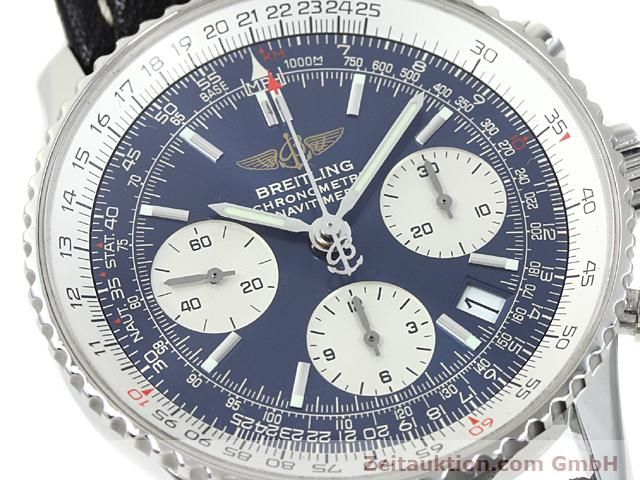 Used luxury watch Breitling Navitimer steel automatic Kal. ETA 7753 Ref. A23322  | 140502 02