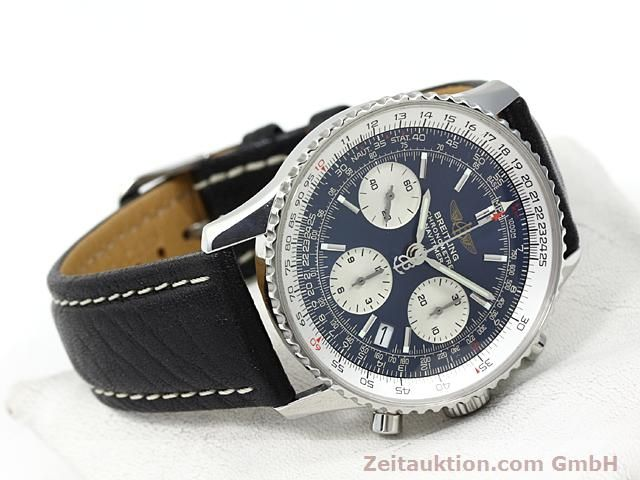 Used luxury watch Breitling Navitimer steel automatic Kal. ETA 7753 Ref. A23322  | 140502 03