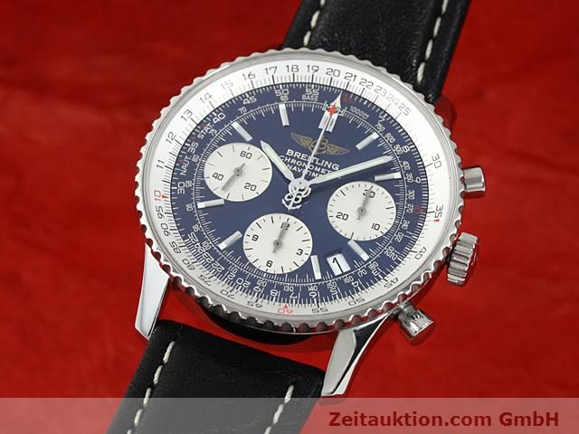 Used luxury watch Breitling Navitimer steel automatic Kal. ETA 7753 Ref. A23322  | 140502 04