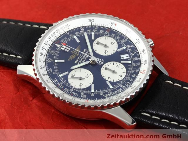 Used luxury watch Breitling Navitimer steel automatic Kal. ETA 7753 Ref. A23322  | 140502 12