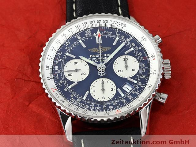 Used luxury watch Breitling Navitimer steel automatic Kal. ETA 7753 Ref. A23322  | 140502 13