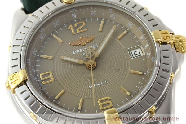 Used luxury watch Breitling Wings gilt steel automatic Kal. ETA 2892-2 Ref. B10050  | 140505 02