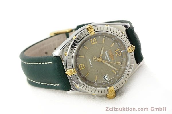 Used luxury watch Breitling Wings gilt steel automatic Kal. ETA 2892-2 Ref. B10050  | 140505 03