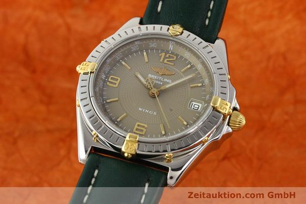Used luxury watch Breitling Wings gilt steel automatic Kal. ETA 2892-2 Ref. B10050  | 140505 04