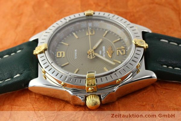 Used luxury watch Breitling Wings gilt steel automatic Kal. ETA 2892-2 Ref. B10050  | 140505 05