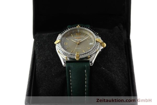 Used luxury watch Breitling Wings gilt steel automatic Kal. ETA 2892-2 Ref. B10050  | 140505 07