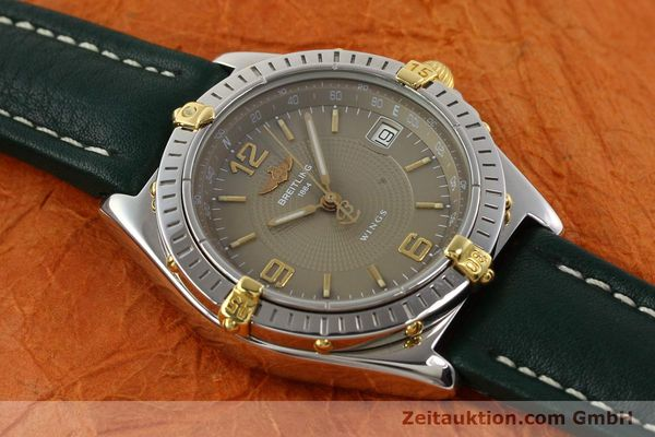 Used luxury watch Breitling Wings gilt steel automatic Kal. ETA 2892-2 Ref. B10050  | 140505 13
