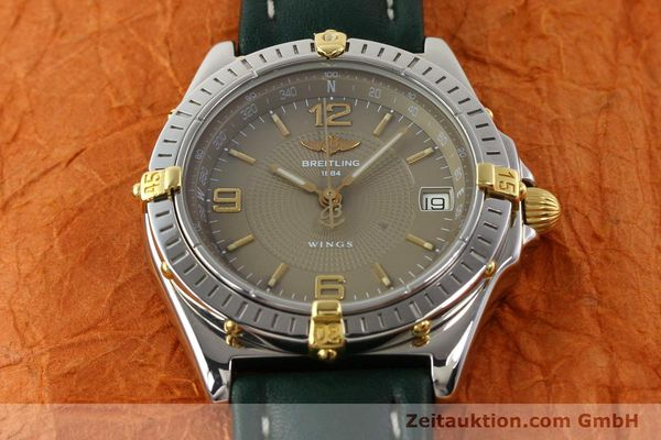 Used luxury watch Breitling Wings gilt steel automatic Kal. ETA 2892-2 Ref. B10050  | 140505 14