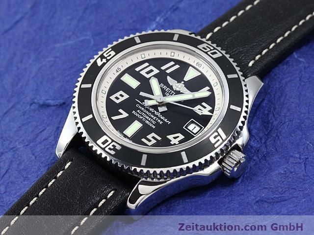 Used luxury watch Breitling Superocean steel automatic Kal. ETA 2824-2 Ref. A17364  | 140506 01