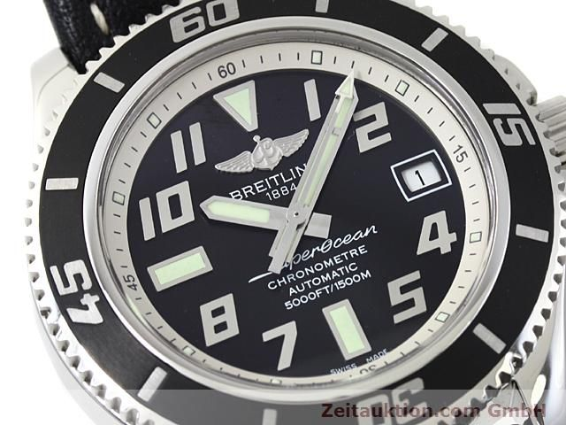 Used luxury watch Breitling Superocean steel automatic Kal. ETA 2824-2 Ref. A17364  | 140506 02