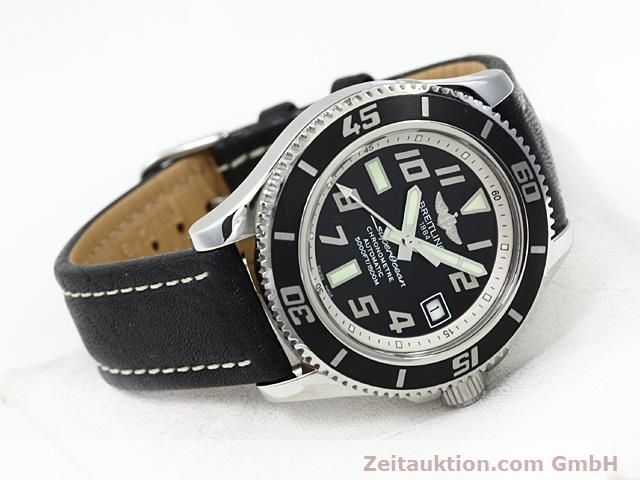 Used luxury watch Breitling Superocean steel automatic Kal. ETA 2824-2 Ref. A17364  | 140506 03