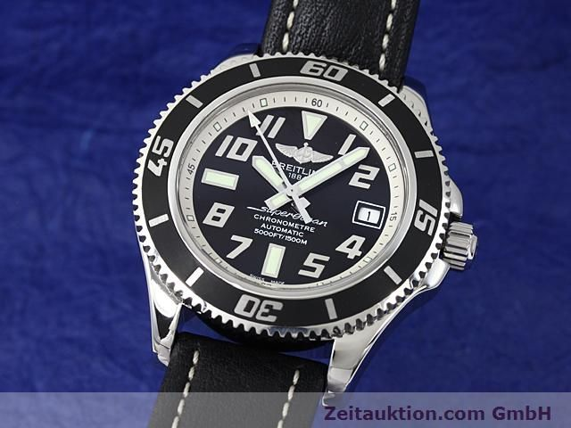Used luxury watch Breitling Superocean steel automatic Kal. ETA 2824-2 Ref. A17364  | 140506 04