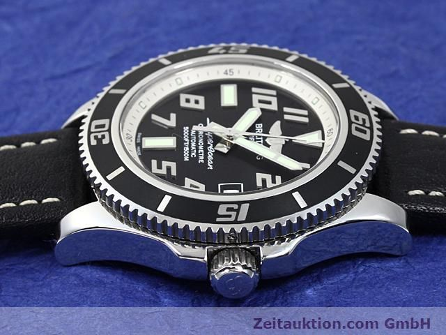 Used luxury watch Breitling Superocean steel automatic Kal. ETA 2824-2 Ref. A17364  | 140506 05
