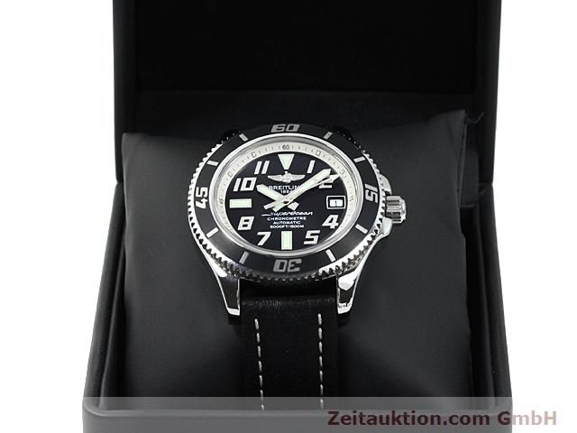 Used luxury watch Breitling Superocean steel automatic Kal. ETA 2824-2 Ref. A17364  | 140506 07