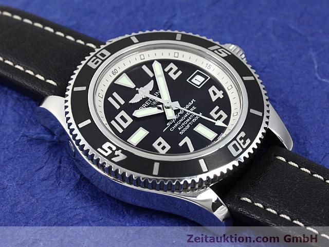 Used luxury watch Breitling Superocean steel automatic Kal. ETA 2824-2 Ref. A17364  | 140506 12