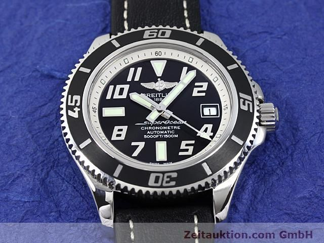 Used luxury watch Breitling Superocean steel automatic Kal. ETA 2824-2 Ref. A17364  | 140506 13