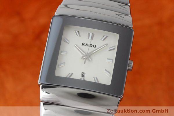 Used luxury watch Rado Diastar ceramic quartz Kal. ETA 256111 Ref. 152.0432.3 VINTAGE  | 140512 04