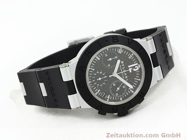 Used luxury watch Bvlgari Diagono aluminium automatic Kal. TEMM 080 Ref. AC38TA  | 140514 03