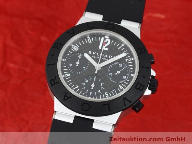 Used luxury watch Bvlgari Diagono aluminium automatic Kal. TEMM 080 Ref. AC38TA  | 140514 04