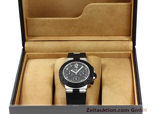Used luxury watch Bvlgari Diagono aluminium automatic Kal. TEMM 080 Ref. AC38TA  | 140514 07