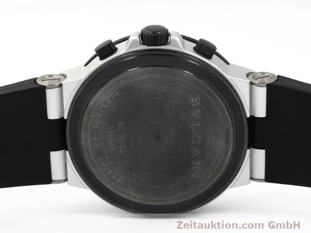 Used luxury watch Bvlgari Diagono aluminium automatic Kal. TEMM 080 Ref. AC38TA  | 140514 09