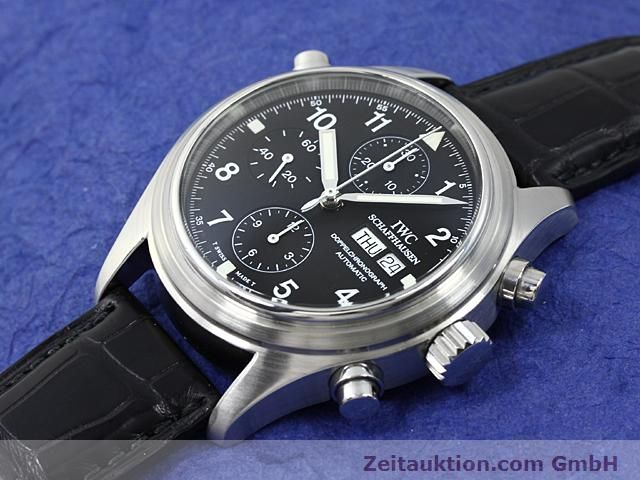 Used luxury watch IWC Fliegerchronograph steel automatic Kal. C.79230  | 140516 01