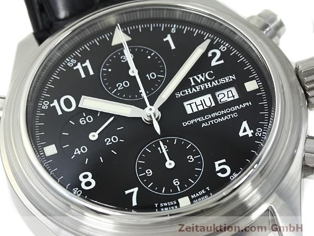 Used luxury watch IWC Fliegerchronograph steel automatic Kal. C.79230  | 140516 02