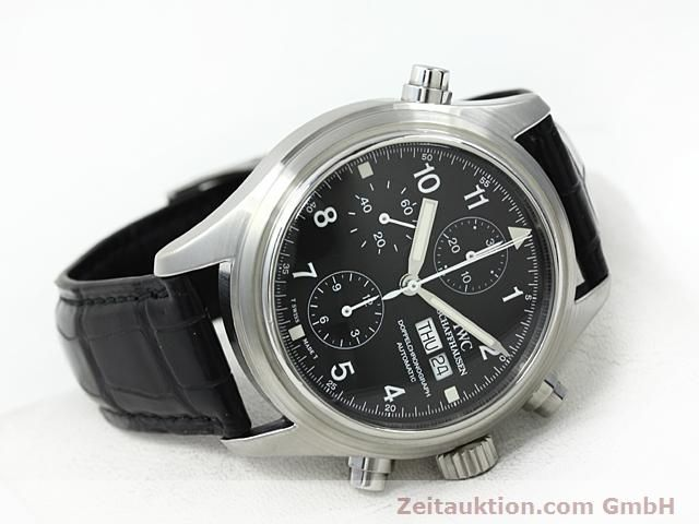 Used luxury watch IWC Fliegerchronograph steel automatic Kal. C.79230  | 140516 03