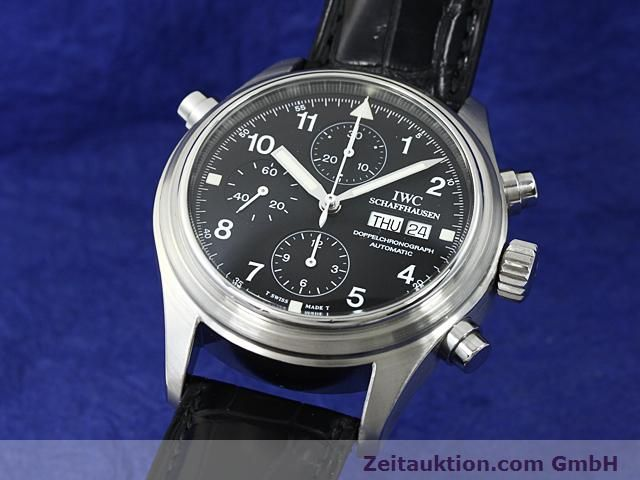 Used luxury watch IWC Fliegerchronograph steel automatic Kal. C.79230  | 140516 04
