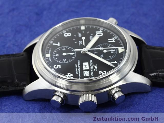 Used luxury watch IWC Fliegerchronograph steel automatic Kal. C.79230  | 140516 05