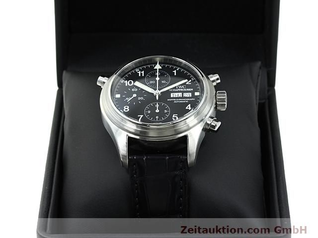 Used luxury watch IWC Fliegerchronograph steel automatic Kal. C.79230  | 140516 07