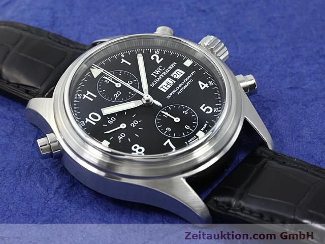 Used luxury watch IWC Fliegerchronograph steel automatic Kal. C.79230  | 140516 14