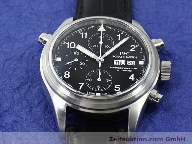 Used luxury watch IWC Fliegerchronograph steel automatic Kal. C.79230  | 140516 15