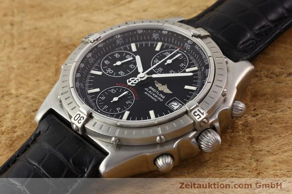 Used luxury watch Breitling Blackbird steel automatic Ref. A130501  | 140518 01