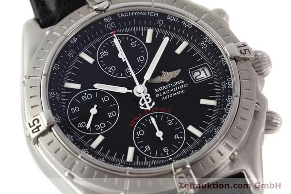 Used luxury watch Breitling Blackbird steel automatic Ref. A130501  | 140518 02