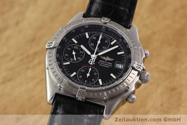 Used luxury watch Breitling Blackbird steel automatic Ref. A130501  | 140518 04