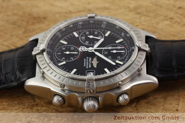 Used luxury watch Breitling Blackbird steel automatic Ref. A130501  | 140518 05