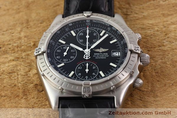 Used luxury watch Breitling Blackbird steel automatic Ref. A130501  | 140518 17