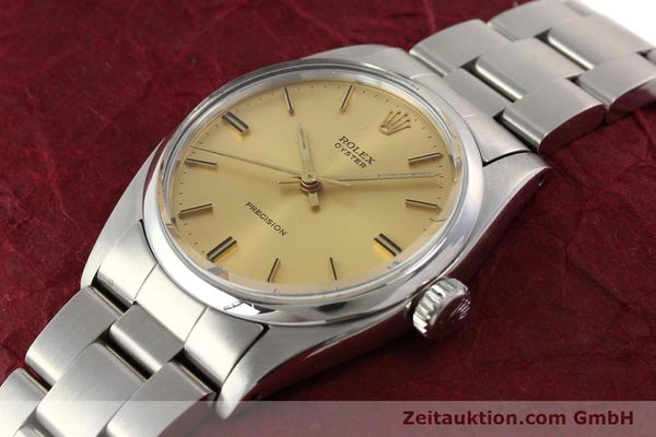 Used luxury watch Rolex Precision steel manual winding Kal. 1225 Ref. 6426  | 140521 01