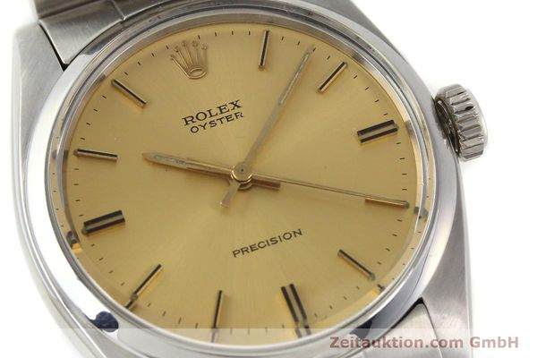 Used luxury watch Rolex Precision steel manual winding Kal. 1225 Ref. 6426  | 140521 02