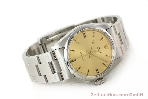 Used luxury watch Rolex Precision steel manual winding Kal. 1225 Ref. 6426  | 140521 03
