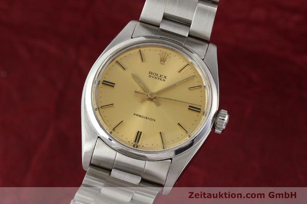 Used luxury watch Rolex Precision steel manual winding Kal. 1225 Ref. 6426  | 140521 04