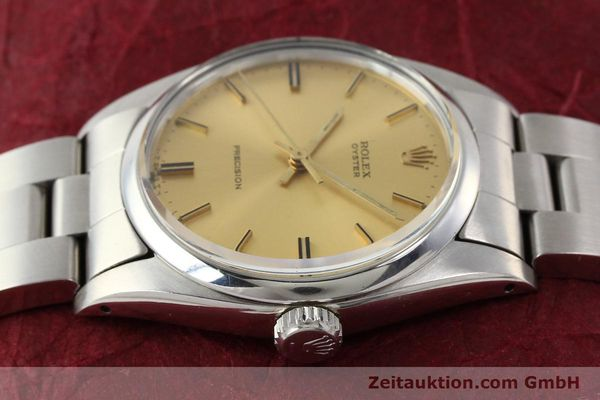 Used luxury watch Rolex Precision steel manual winding Kal. 1225 Ref. 6426  | 140521 05