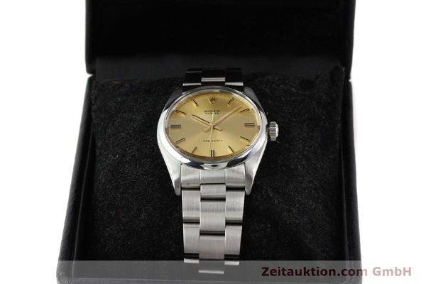 Used luxury watch Rolex Precision steel manual winding Kal. 1225 Ref. 6426  | 140521 07