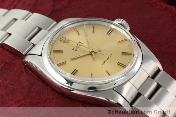 Used luxury watch Rolex Precision steel manual winding Kal. 1225 Ref. 6426  | 140521 14