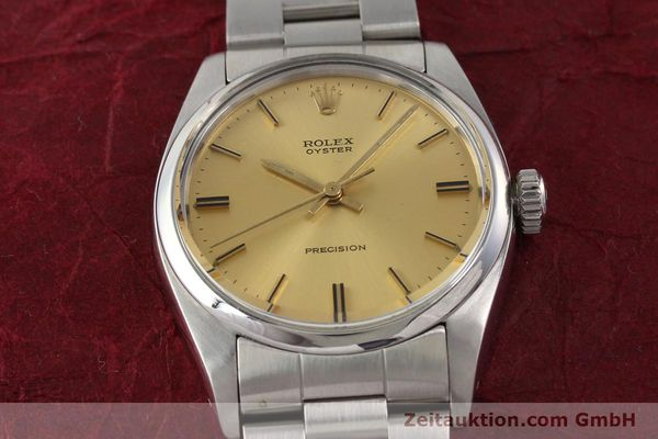 Used luxury watch Rolex Precision steel manual winding Kal. 1225 Ref. 6426  | 140521 15