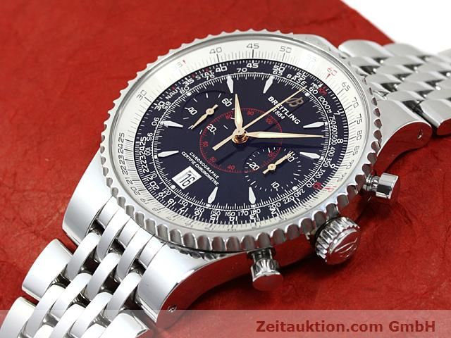 Used luxury watch Breitling Montbrillant steel automatic Kal. ETA 7753 Ref. A23340  | 140524 01