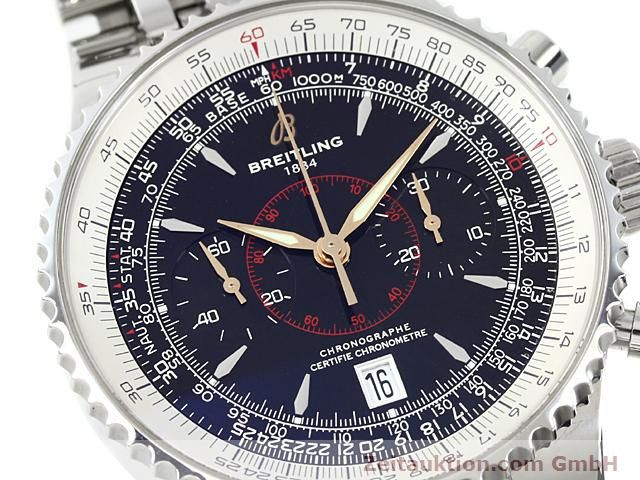 Used luxury watch Breitling Montbrillant steel automatic Kal. ETA 7753 Ref. A23340  | 140524 02